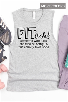 Picture of Fit{ish} Graphic Muscle Tank