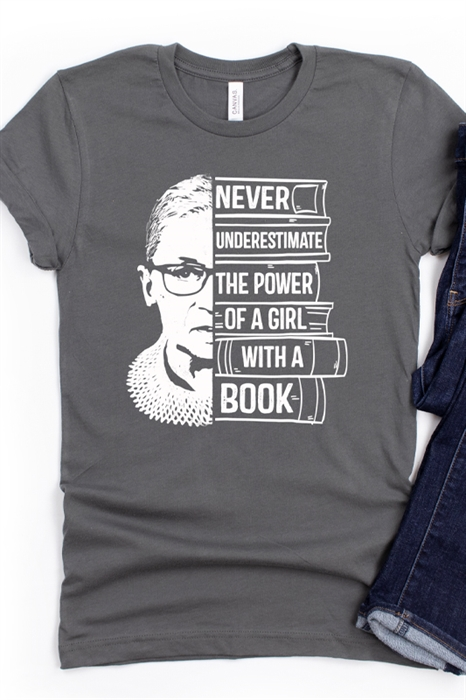 Picture of Never Underestimate The Power Graphic Tee