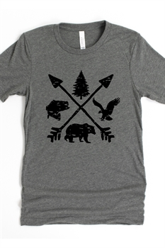 Picture of Outdoors Graphic Tee