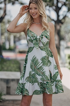 Picture of Tropical Twist Front Dress